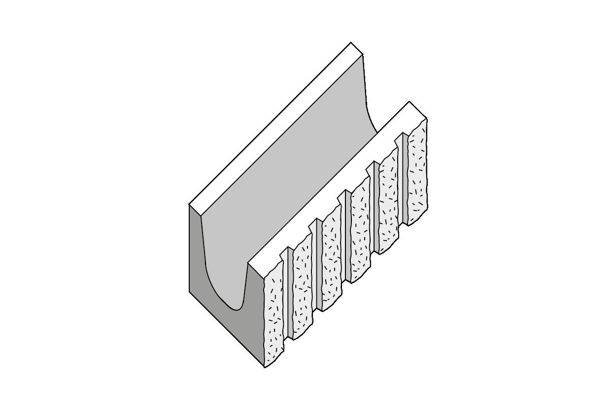 Splittato-Rigato-Architrave