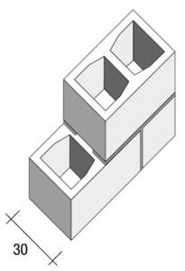 Parete-B30-2fori